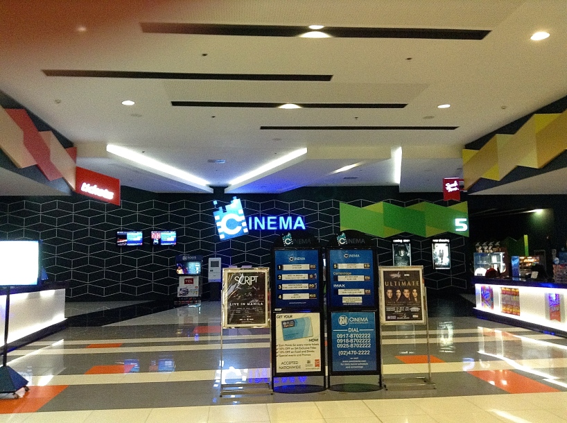 SM Lanang where I went to see Mortdecai.