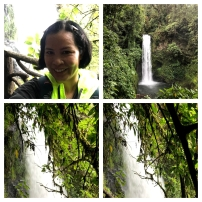 All of the waterfalls were awesome.